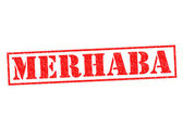 MERHABA — Stock Photo