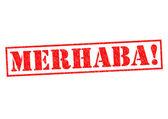 MERHABA! — Stockfoto