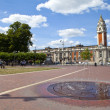 Windrush Square and Lambeth Town Hall in Brixton, London. — Stock Photo #33244627