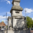 Stock Photo: Budd Memorial in Brixton, London
