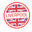 LIVERPOOL Rubber Stamp — Stock Photo