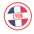 Foto Stock: LYON Rubber Stamp