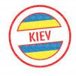 Stock Photo: KIEV Rubber Stamp