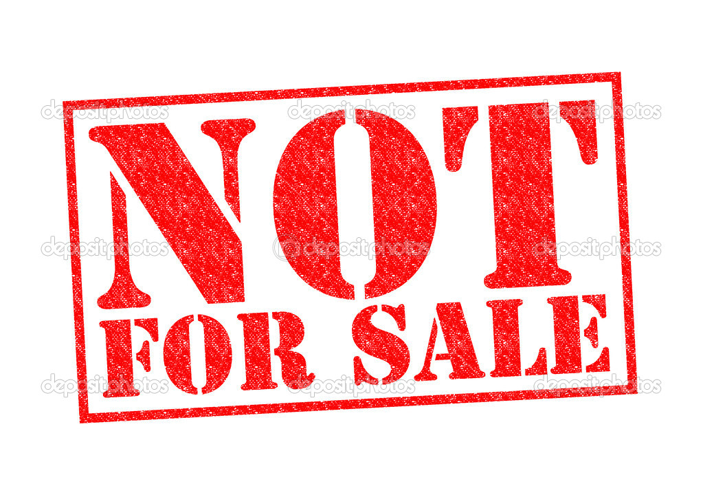 you are not for sale