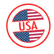 USA Rubber Stamp — Stock Photo #34183905