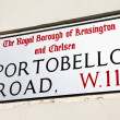 Portobello Road in London — Stock Photo