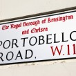 Portobello Road in London — Stock Photo