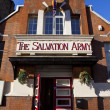 salvation army in portobello road — Stock Photo