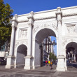 Marble Arch in London — Stock Photo