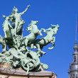 Grand Palais Quadriga in Paris — Photo