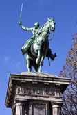 Lafayette socha v paříži — Stock fotografie