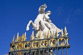 Statue in the Tuileries Garden in Paris — Stock Photo