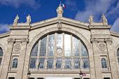 Gare du nord a parigi — Foto Stock