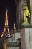 Eiffel Tower from the Trocadero in Paris — Foto Stock