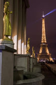 Eiffel Tower from the Trocadero in Paris — Stockfoto