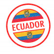 ECUADOR — Stock Photo
