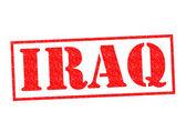 IRAQ Rubber Stamp — Stock Photo
