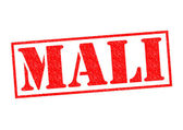 MALI Rubber Stamp — Stock Photo