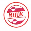 Stock Photo: NUUK Rubber Stamp
