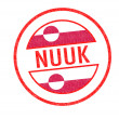 NUUK Rubber Stamp — Stock Photo