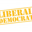 Stock Photo: LIBERAL DEMOCRAT