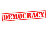 DEMOCRACY — Stockfoto