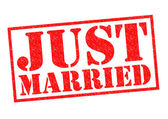 Appena sposato — Foto Stock