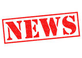 NEWS Rubber Stamp — Stock Photo