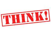 THINK! — Stock Photo