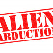 Stock Photo: ALIEN ABDUCTION