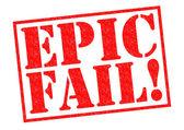 EPIC FAIL! — Stock Photo