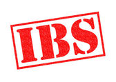 IBS Rubber Stamp — Stock Photo