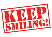 KEEP SMILING! — Stock Photo