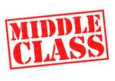 Medelklassen — Stockfoto