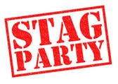STAG PARTY — Stock Photo