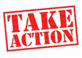 TAKE ACTION — Stock Photo
