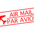 Stock Photo: AIR MAIL - PAR AVION