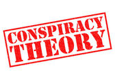 CONSPIRACY THEORY — Stock Photo