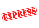 EXPRESS — Stock Photo