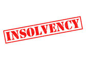 INSOLVENCY — Stock Photo