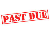 PAST DUE — Foto de Stock