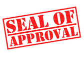 SEAL OF APPROVAL — Stock Photo