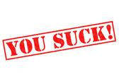 Você é chato! — Fotografia Stock