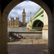 View of the Houses of Parliament — Stock Photo