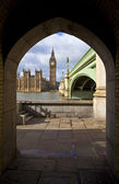 View of the Houses of Parliament — Stockfoto