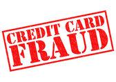 Kreditkortsbedrägerier — Stockfoto
