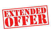 EXTENDED OFFER — Stock Photo