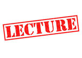LECTURE — Stock Photo