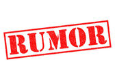 RUMOR — Stock Photo