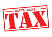 CAPITAL GAINS TAX — Stock Photo
